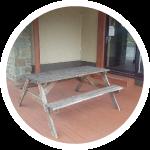 Indoor and outdoor recreational area