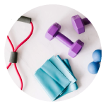 Physical workout facilities and nutrition advice